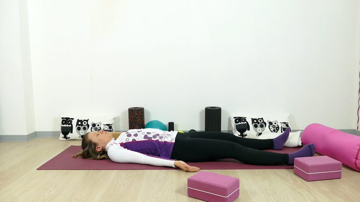 Yin Yoga für Läufer Savasana