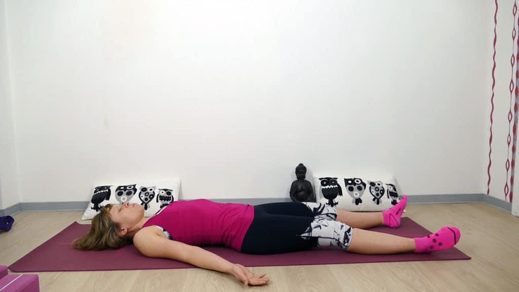 Yin Yoga Läufer Hüftöffnung Shavasana