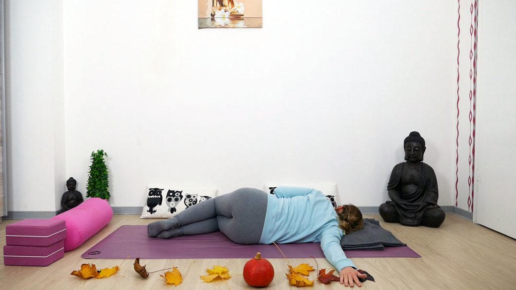 Yin Yoga Sphinx