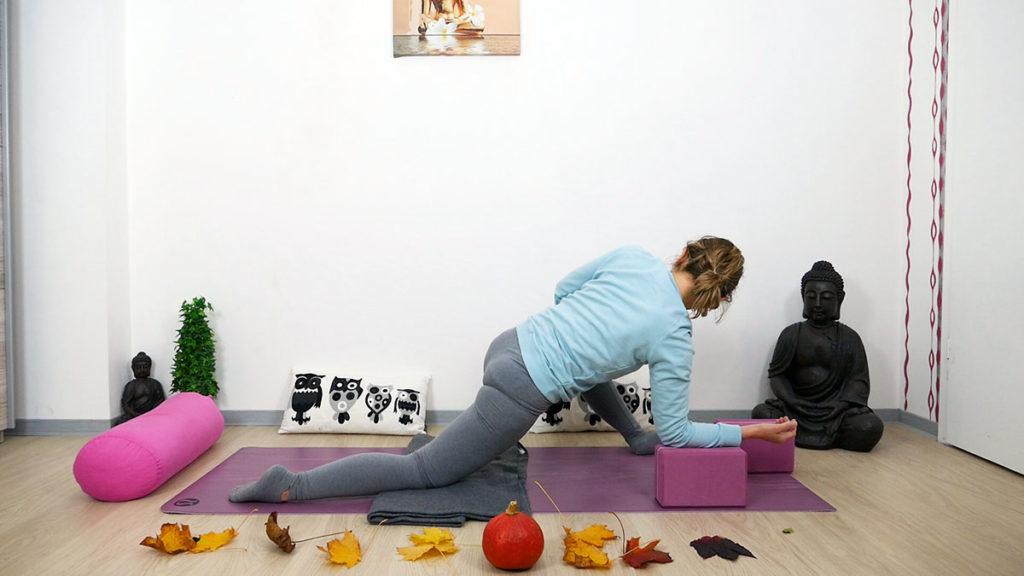 Yin Yoga Twisting Dragon