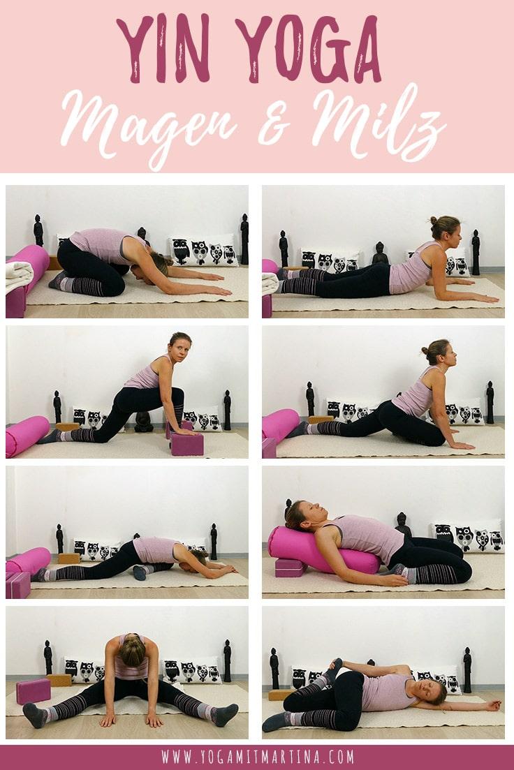 Yin Yoga Element Erde - Magen und Milz