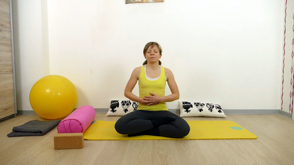 Yin Yoga für das Manipura Chakra: Meditation