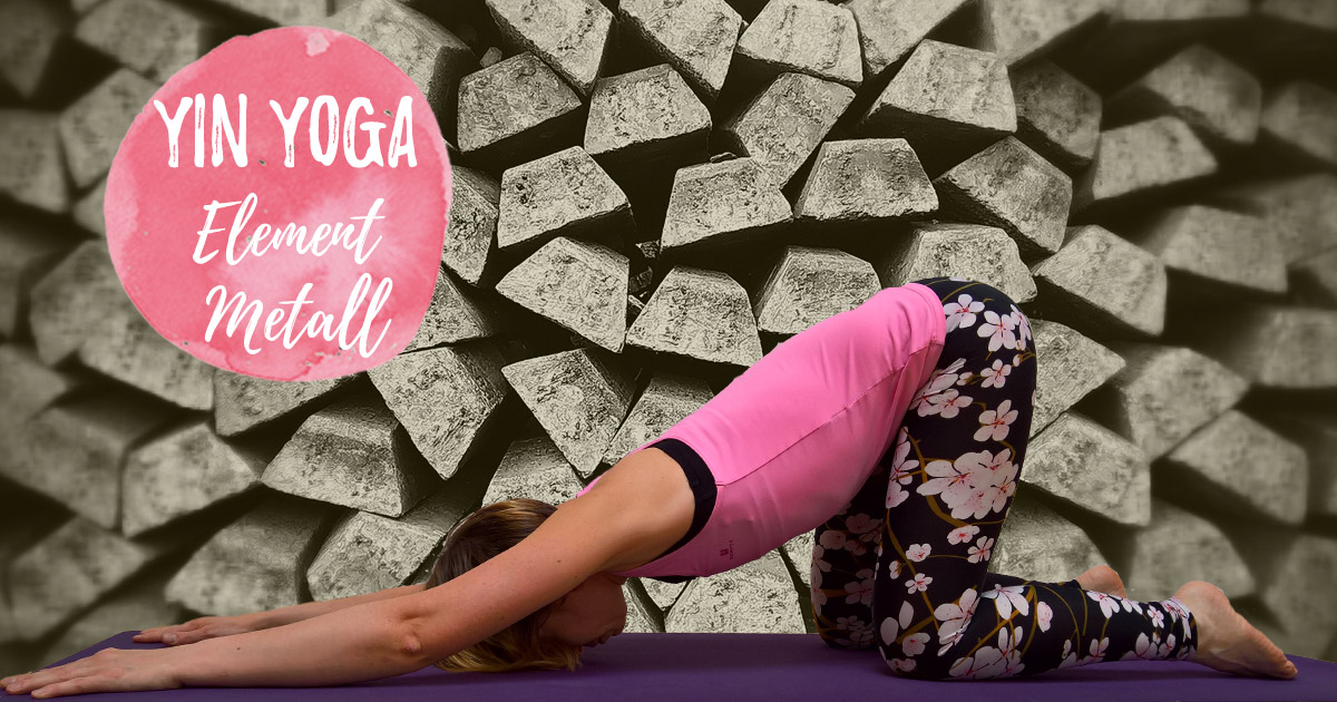 Yin Yoga im Herbst – Element Metall