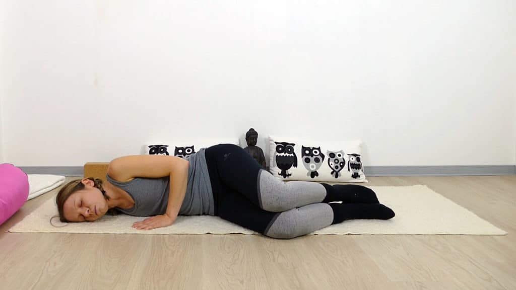 Yin Yoga Open Wings -  Lunge & Dickdarm Element Metall