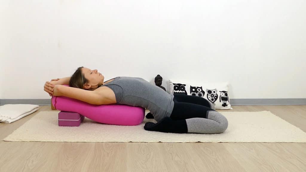 Yin Yoga Sattel - Lunge & Dickdarm Element Metall