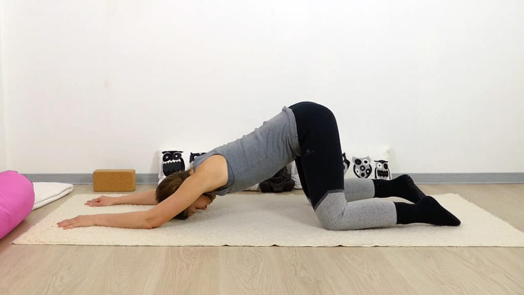 Yin Yoga Melting Heart - Lunge & Dickdarm Element Metall