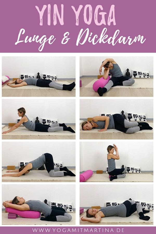 Yin Yoga Sequenz für Lunge & Dickdarm Element Metall
