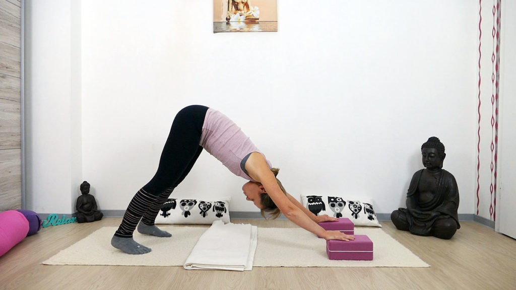 Yin Yoga am Morgen: Herabschauender Hund