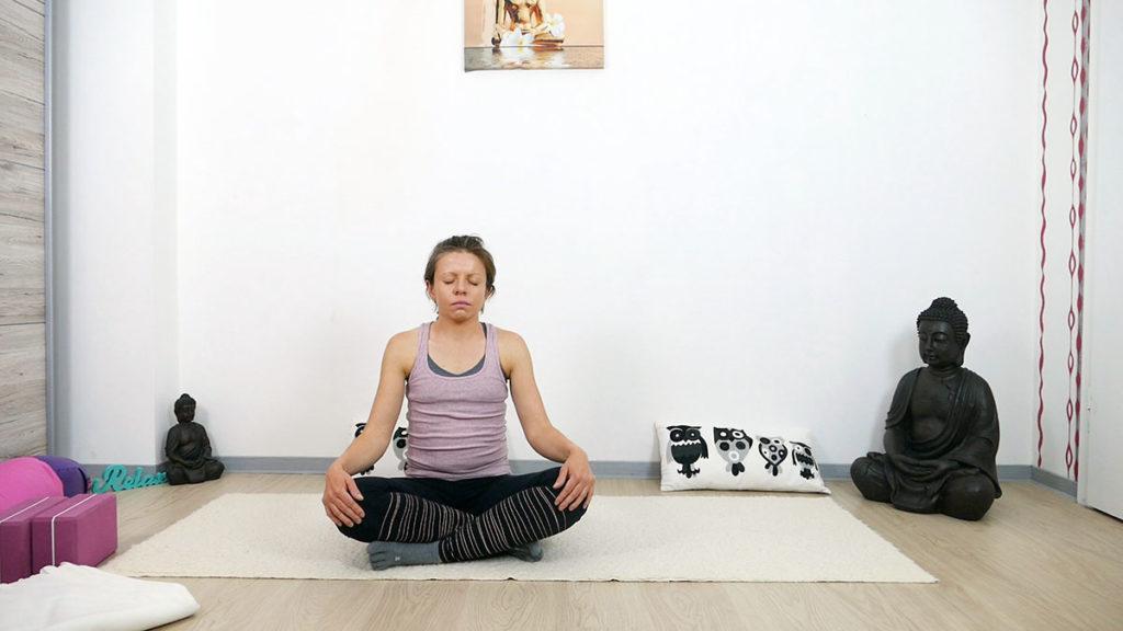 Yin Yoga am Morgen: Meditation