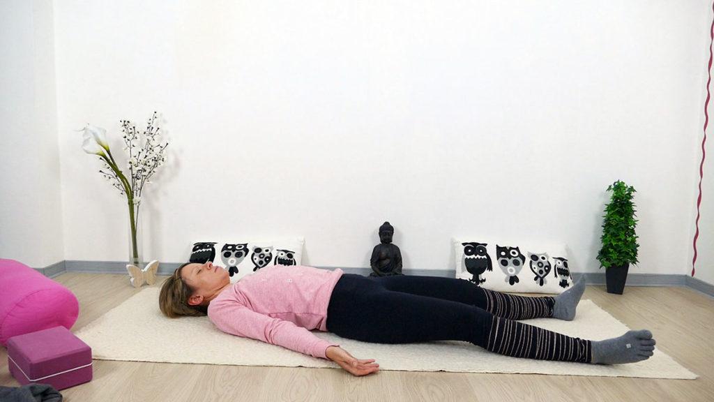 Yin Yoga für Mütter: Shavasana