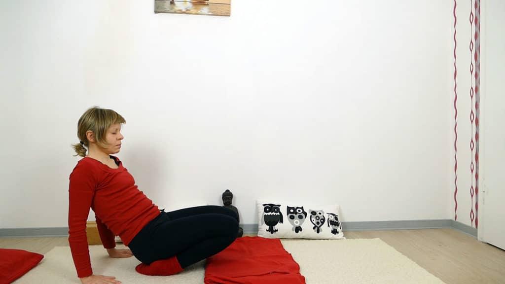 Ankle Stretch - Yin Yoga Wurzelchakra Muladhara