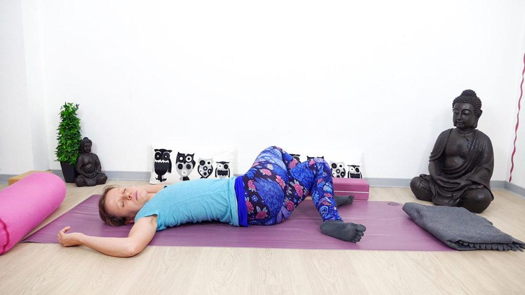 Yin Yoga für Piriformis: Twisted Roots