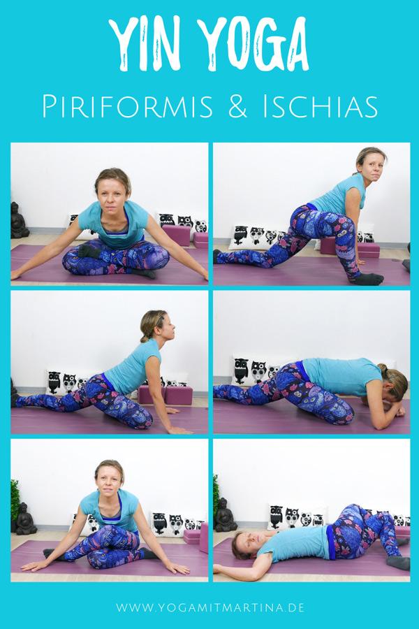 Yin Yoga für Piriformis