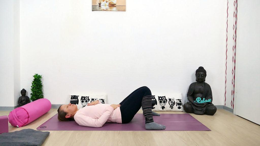 Yin Yoga Hüftbeuger entspannen