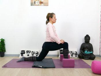 Yin Yoga Drache Hüftbeuger