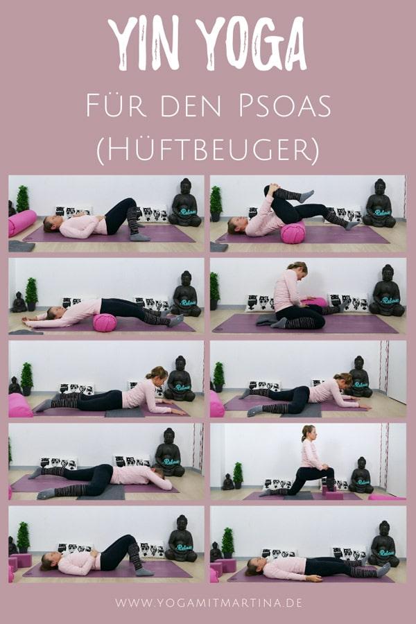 Yin Yoga für den Psoas (Hüftbeuger)