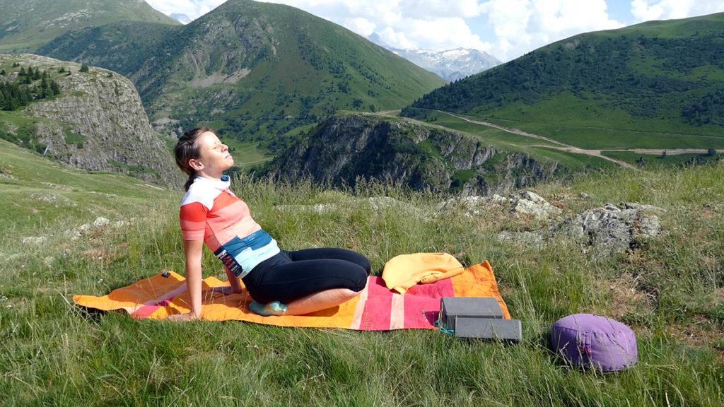 Yin Yoga für Radfahrer: Sprunggelenksdehnung