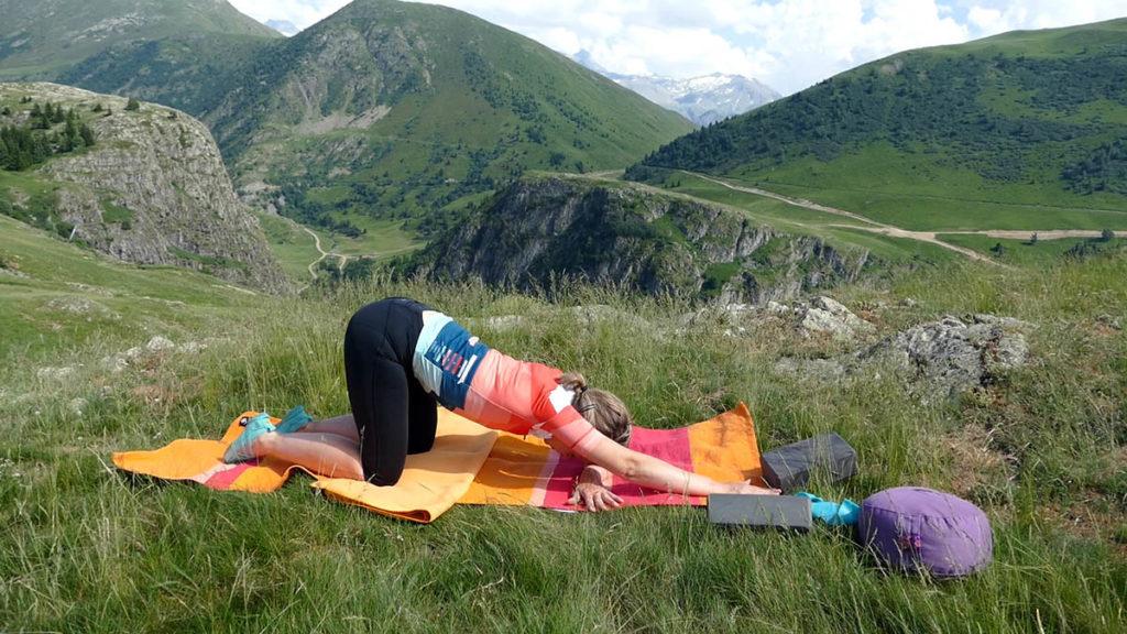 Yin Yoga für Radfahrer: Öffnende Herzstellung