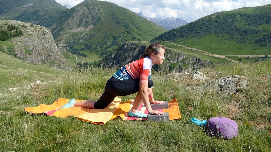Yin Yoga für Radfahrer: Overstepping Dragon