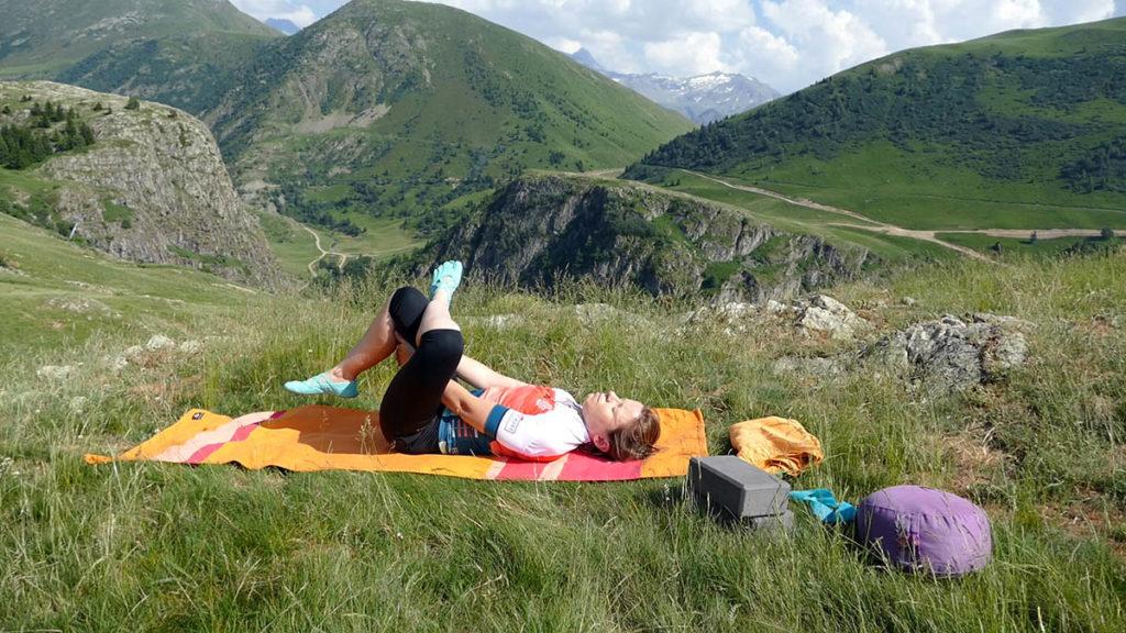 Yin Yoga für Radfahrer: Nadelöhr