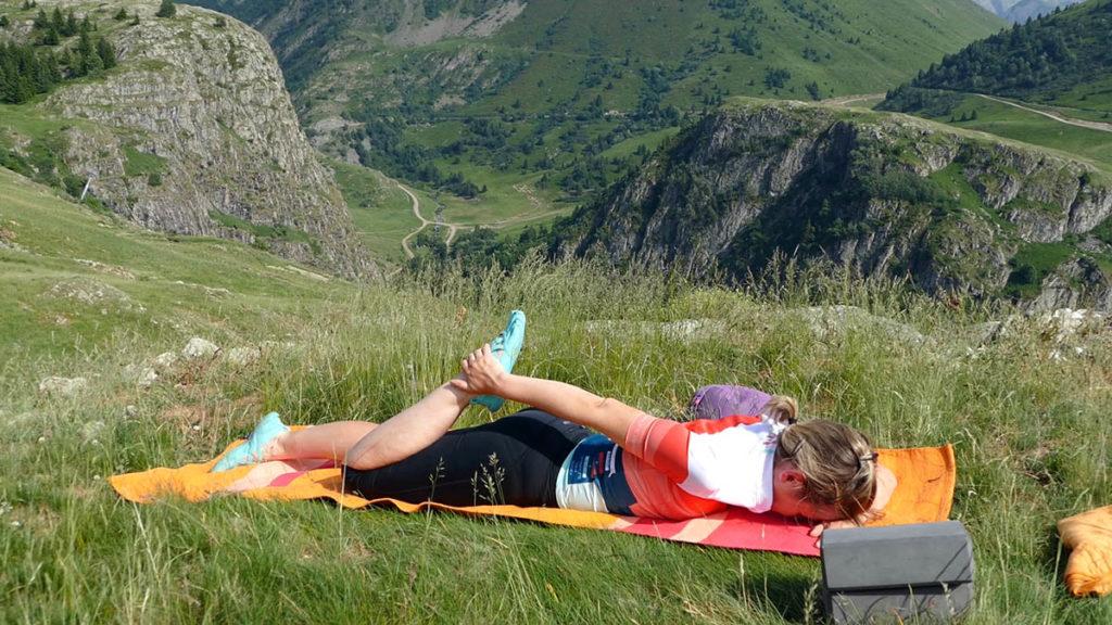 Yin Yoga für Radfahrer: Oberschenkeldehnung