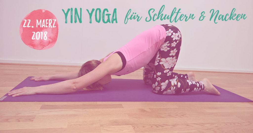 Yin Yoga für Schultern und Nacken