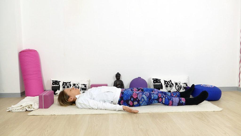 Yin Yoga für Schultern und Nacken - Savasana