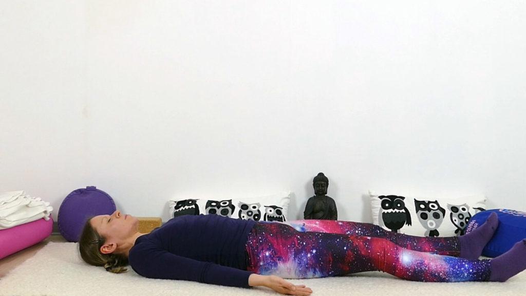 Yin Yoga Schultern & oberer Rücken - Savasana
