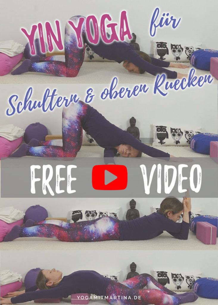 Yin Yoga Schultern & oberer Rücken