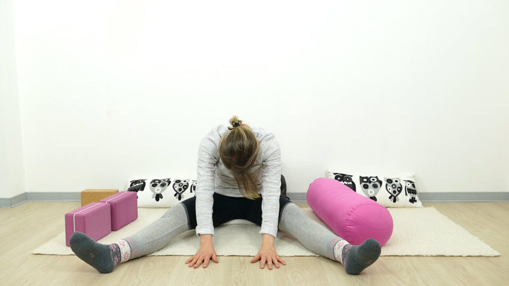 Yin Yoga für Schwangere: Libelle