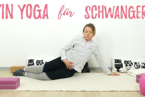 Yin Yoga in der Schwangerschaft – eine Sequenz für schwangere Frauen