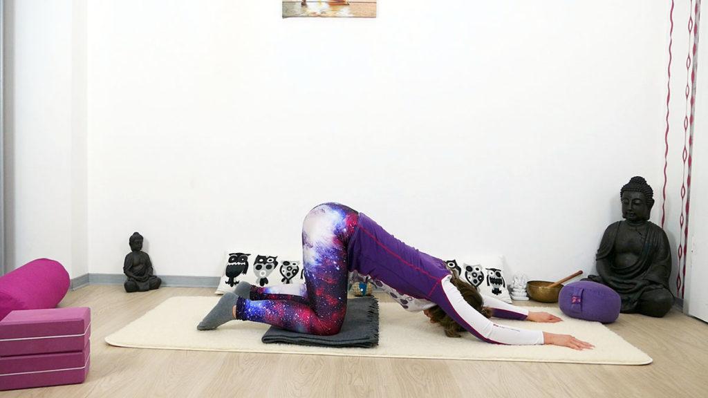 Yin Yoga Selbstliebe - öffnende Herzstellung
