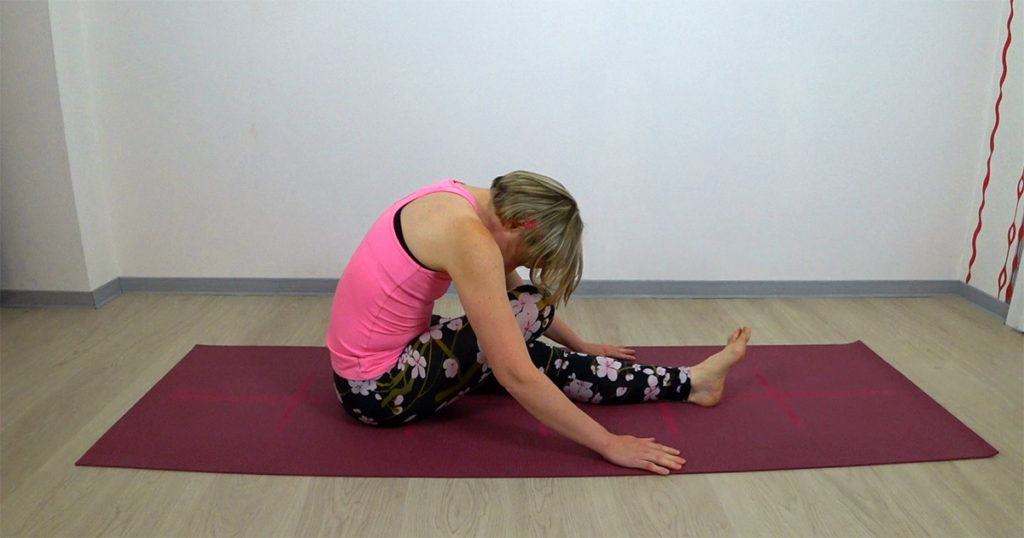 Yin Yoga halber Shoelace