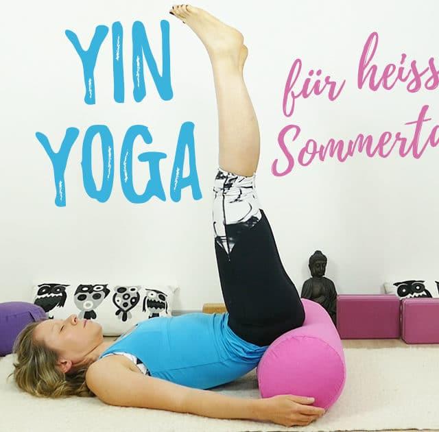 Yin Yoga bei Hitze – Yoga für heiße Sommertage