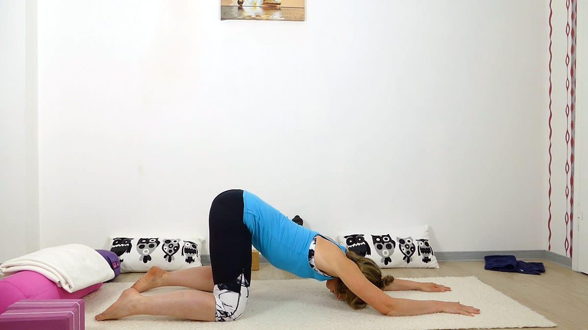 Yin Yoga bei Hitze für heiße Sommertage - Melting Heart