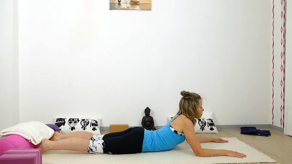 Yin Yoga bei Hitze | Sphinx