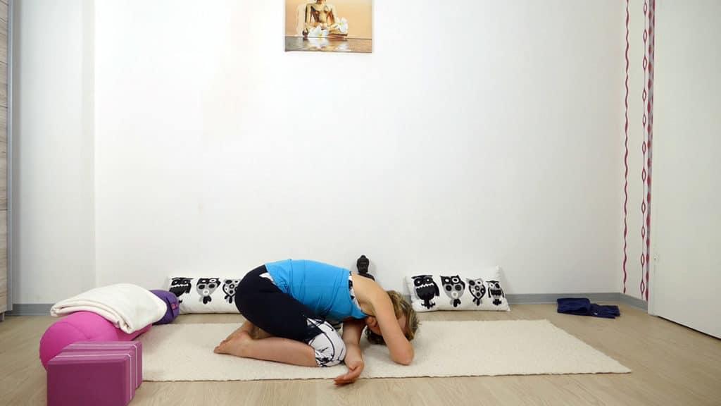 Yin Yoga bei Hitze | Kind