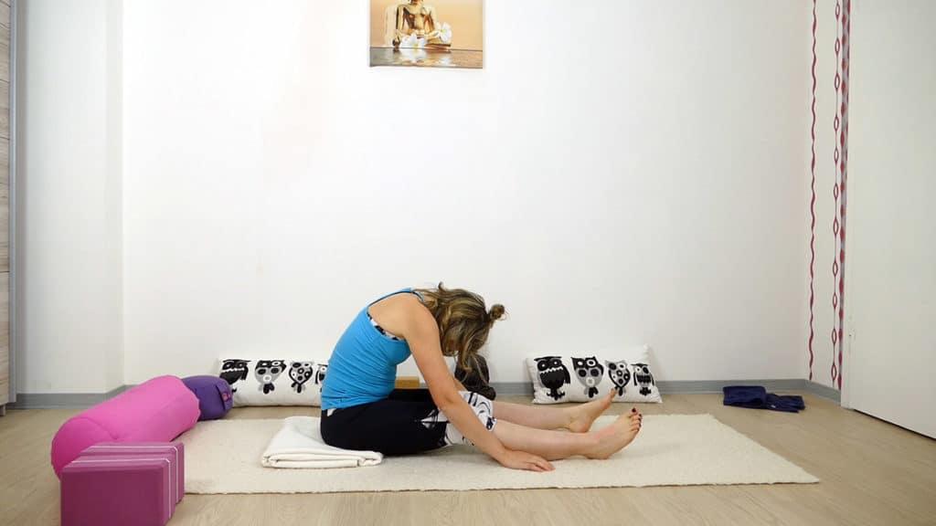Yin Yoga bei Hitze | Raupe