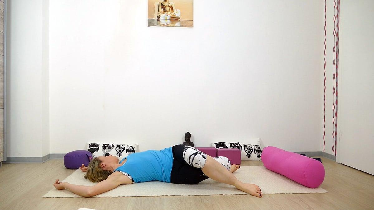 Yin Yoga bei Hitze für heiße Sommertage - Twist