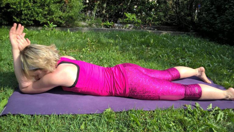 Yin Yoga im Sommer Element Feuer