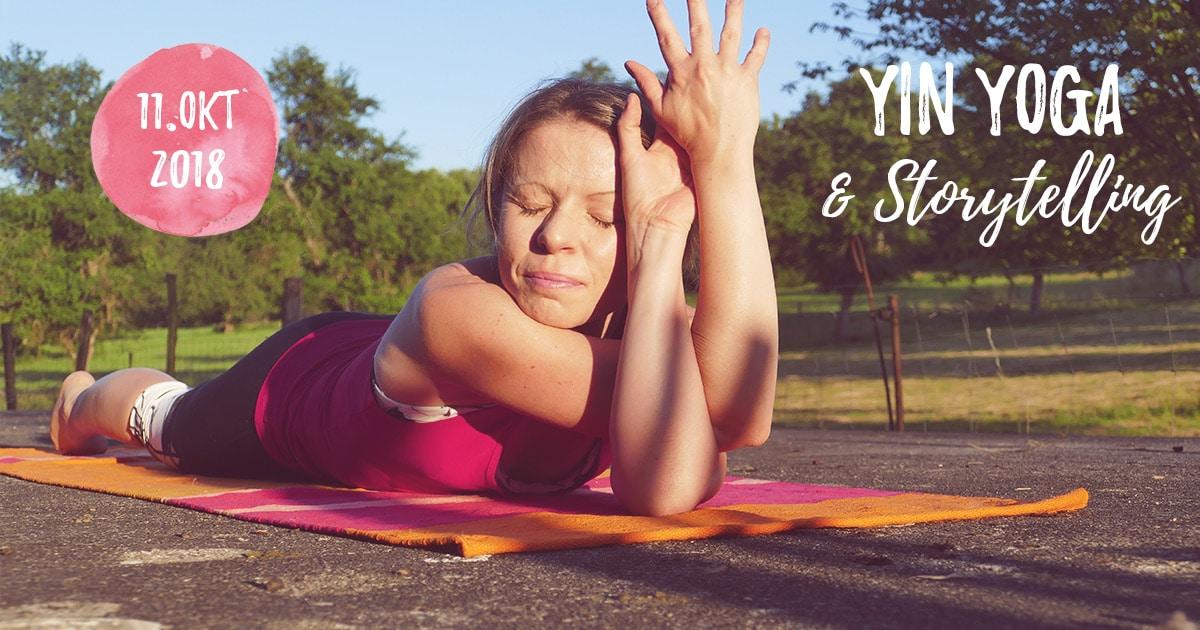 Yin Yoga & Storytelling