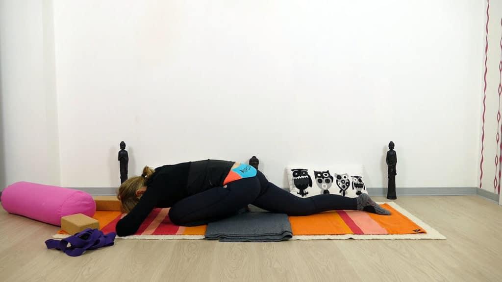 Sleeping Swan Yin Yoga Swadhisthana Chakra