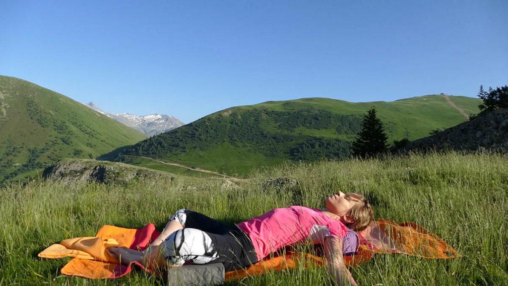 Yin Yoga für Trailrunner & Bergwanderer: Liegender Schmetterling