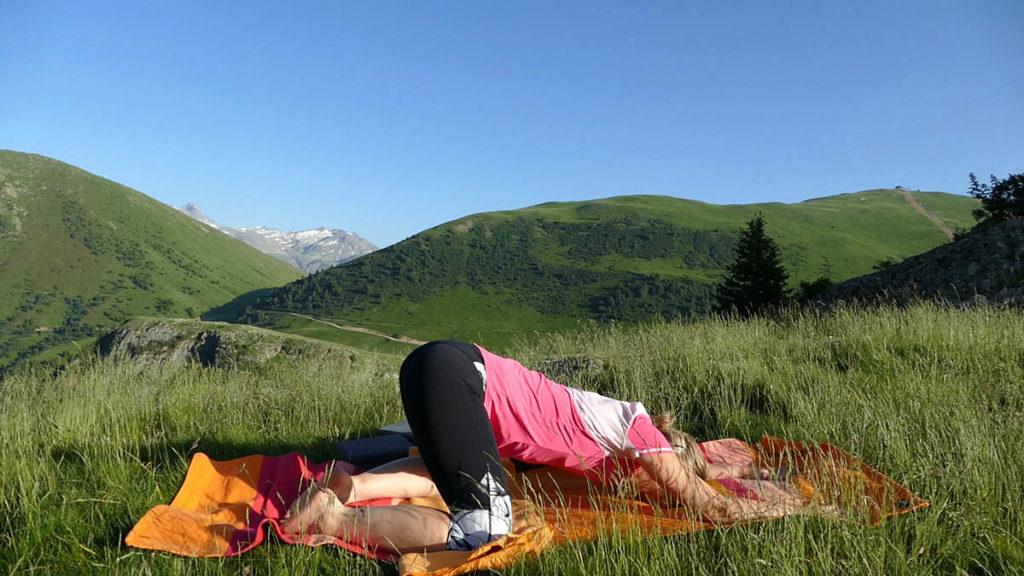 Yin Yoga für Trailrunner & Bergwanderer: kleiner Frosch