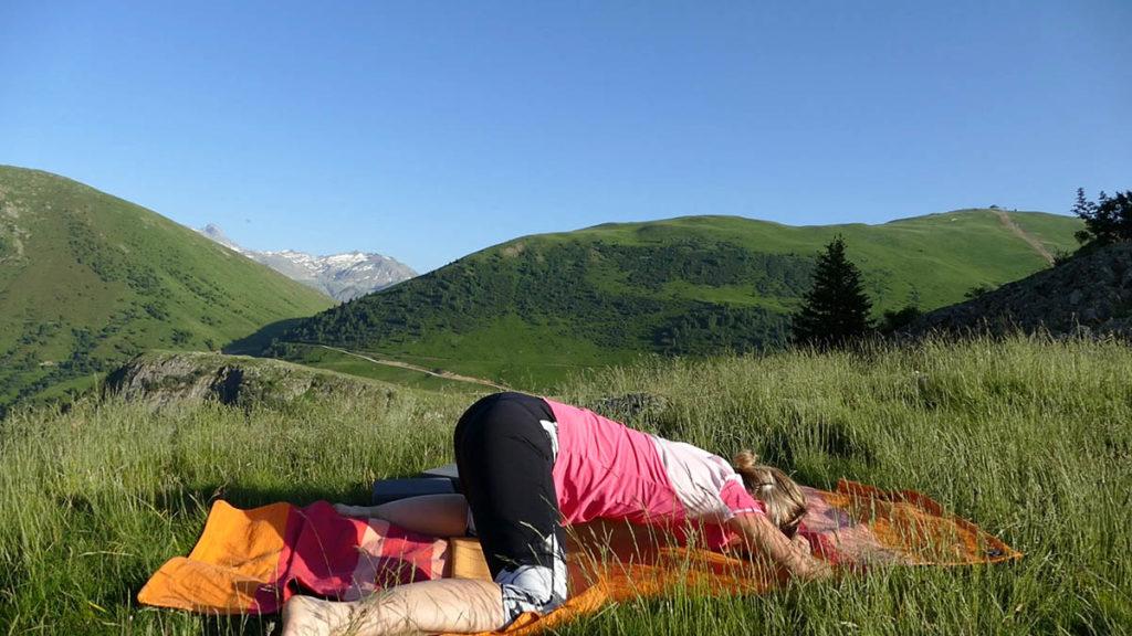 Yin Yoga für Trailrunner & Bergwanderer: großer Frosch