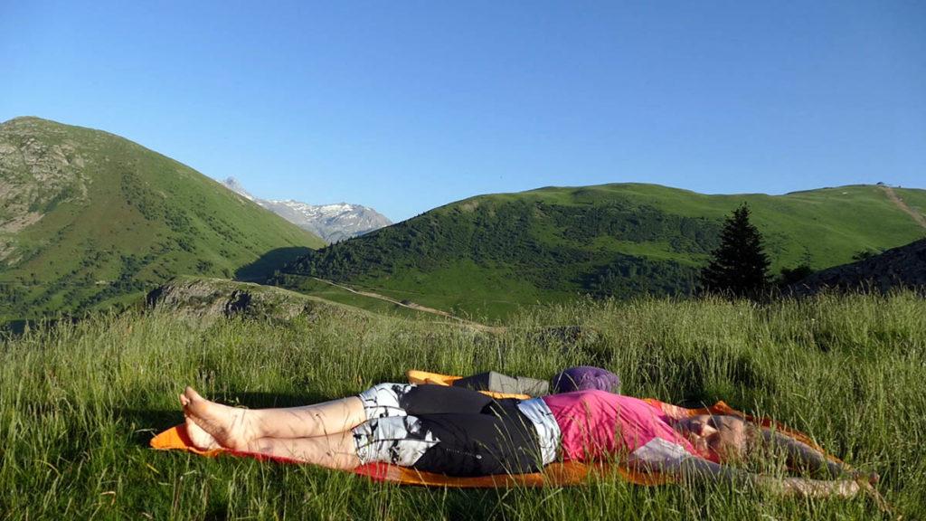 Yin Yoga für Trailrunner & Bergwanderer: Liegender Halbmond