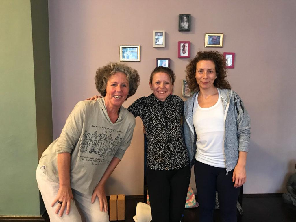 Yin Yoga, Achtsamkeit und Trauma mit stefanie Arend und Doris Iding