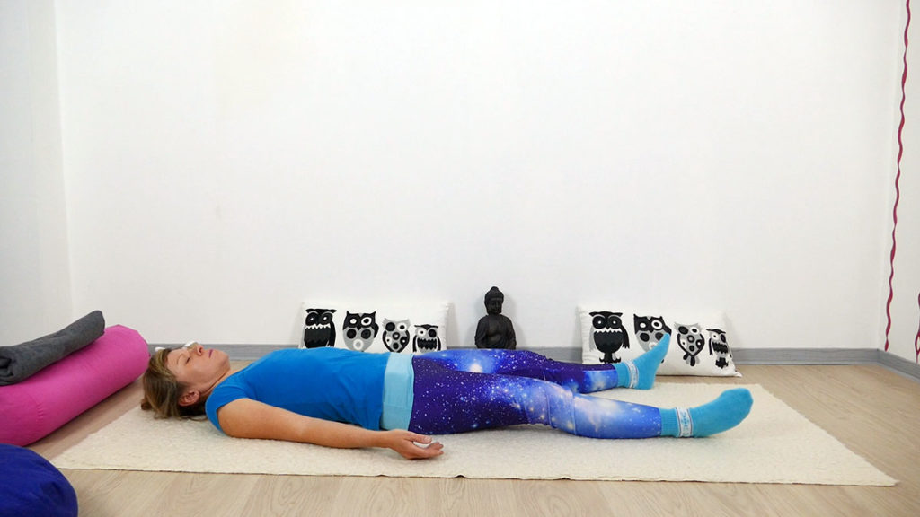 Yin Yoga Vishudda Chakra - Savasana