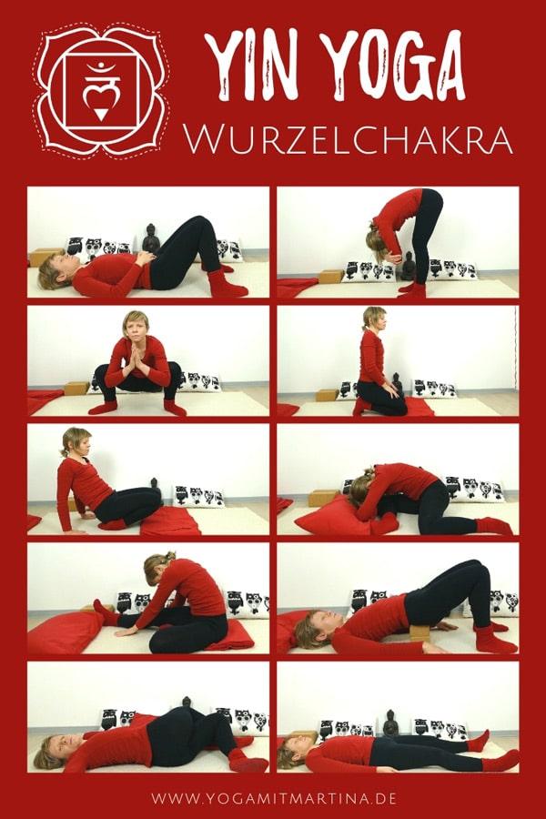 Yin Yoga Wurzelchakra - Muladhara