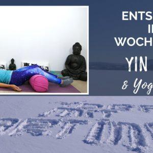 Yin Yoga Yoga Nidra am Wochenende